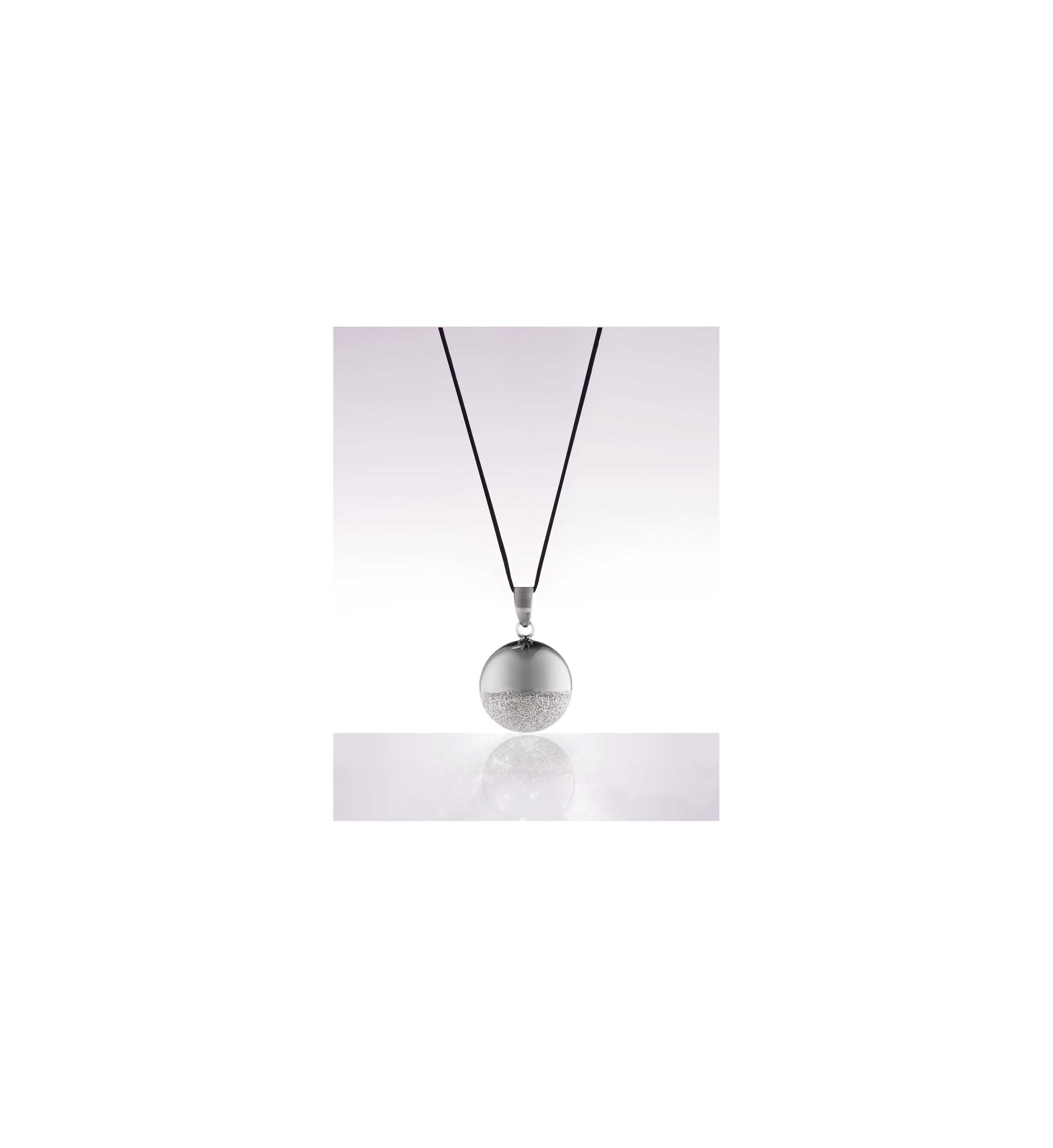 Bola sphere black rhodium