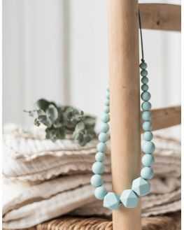 Collier maternage Celadon vert de gris
