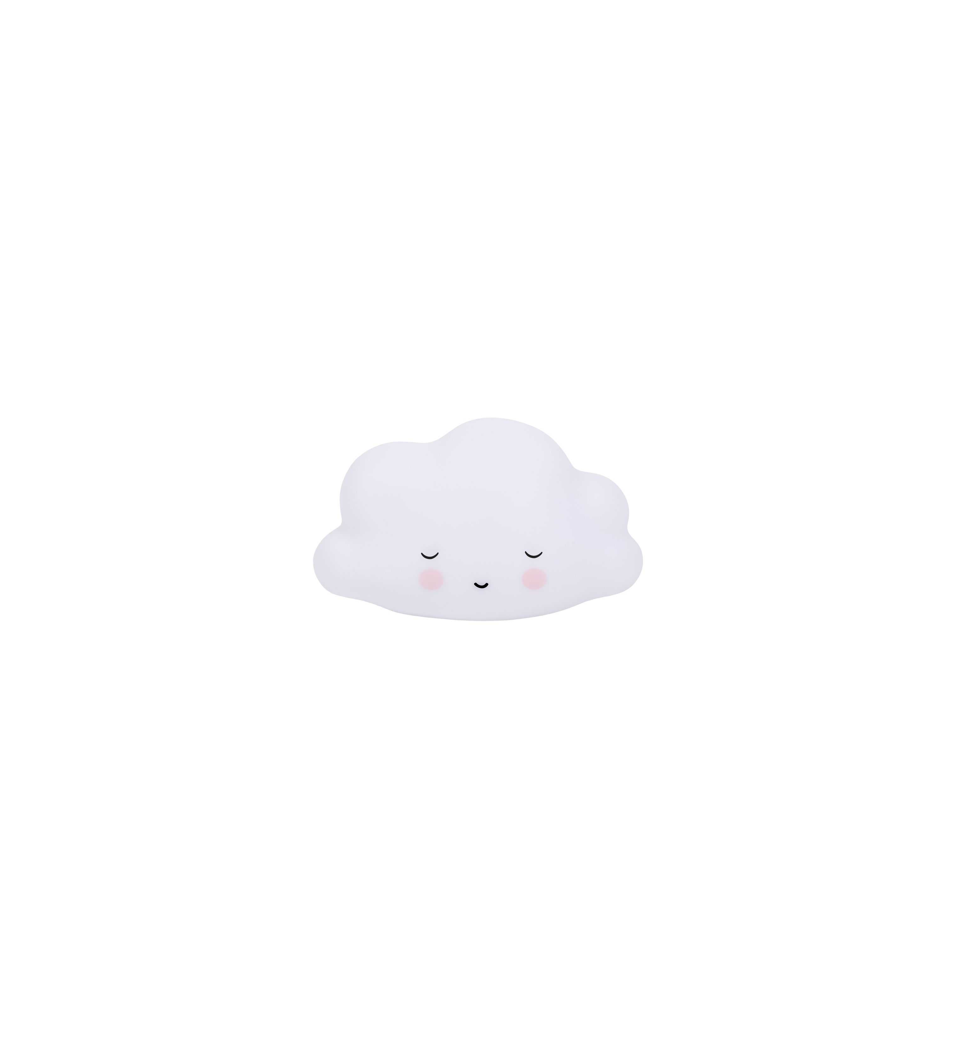 Veilleuse nuage blanc endormi