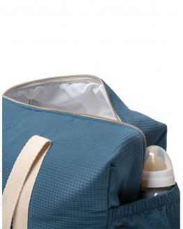 Grand sac à langer Opéra bleu