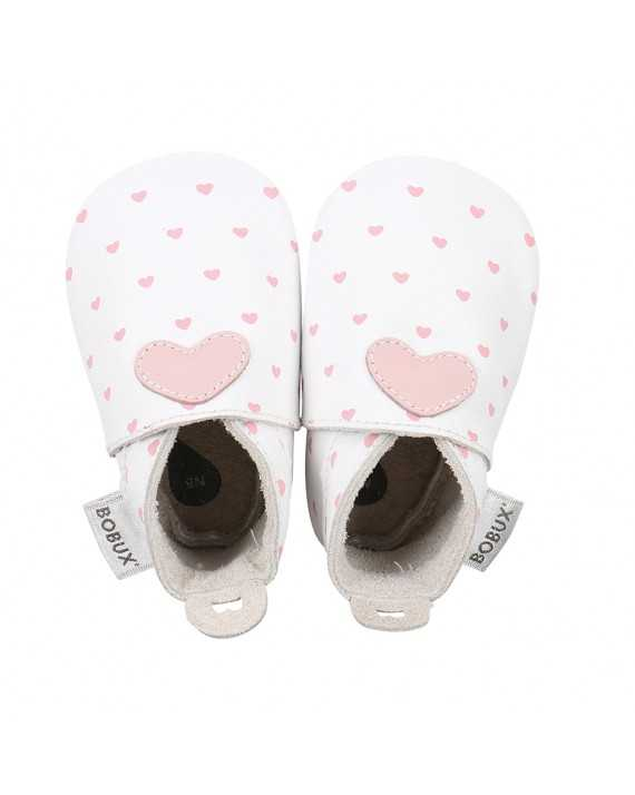 Chaussons coeur rose - BOBUX