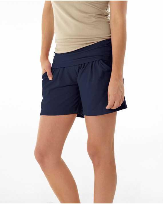 Short jersey de grossesse Bleu Indien