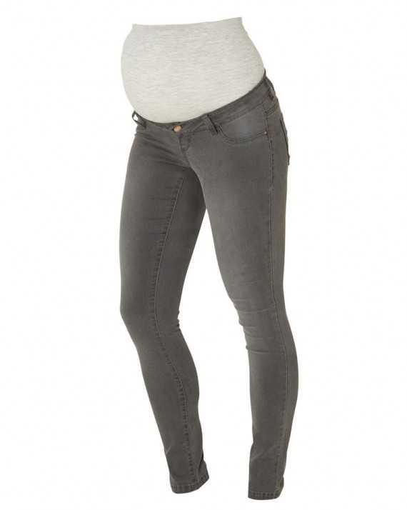 Jean grossesse skinny gris Ella