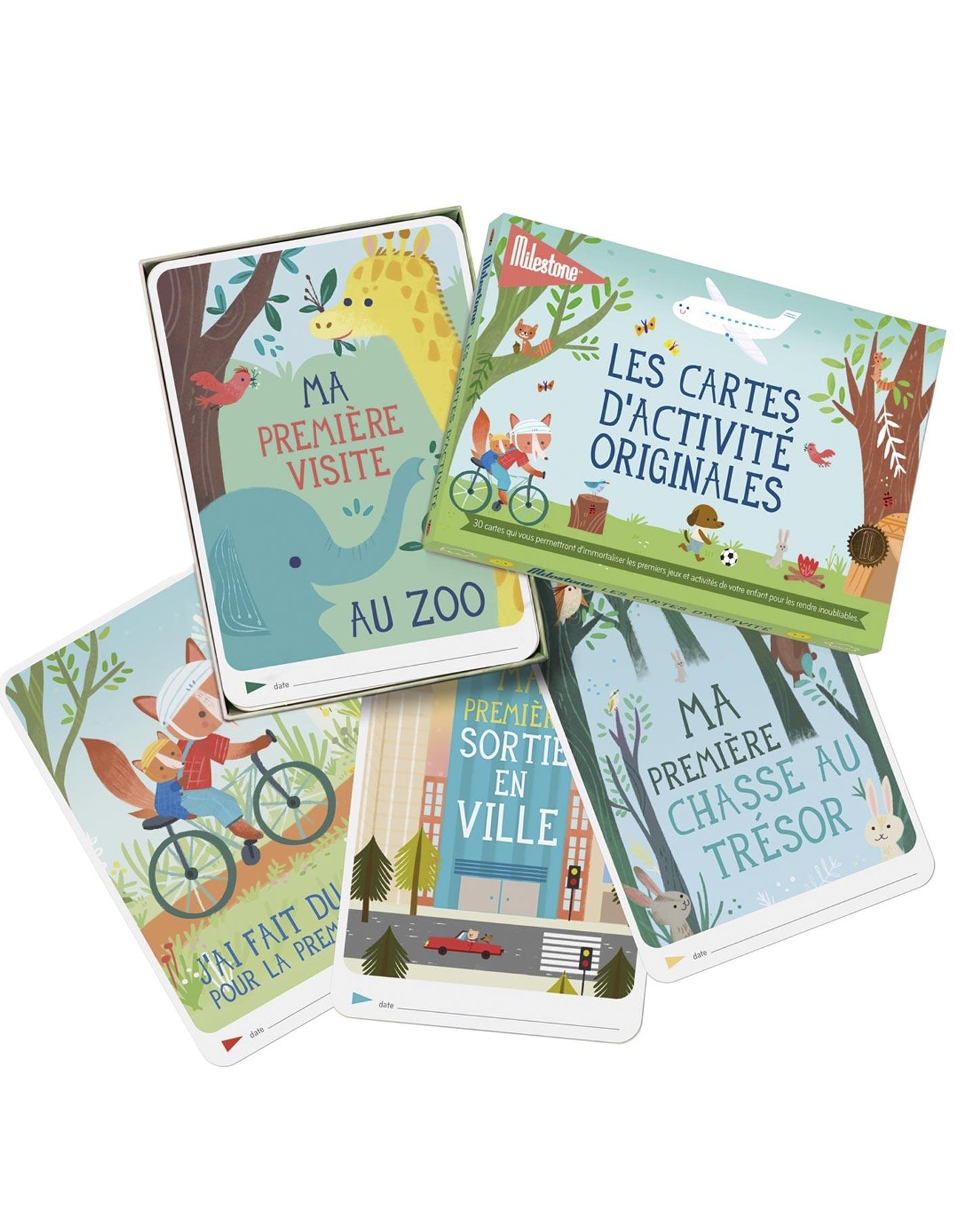 Cartes Photos Souvenirs Des Activite Originales Milestone