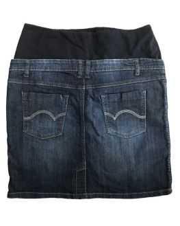 Jupe de grossesse en jean bleu