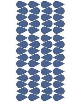 Stickers gouttes bleues