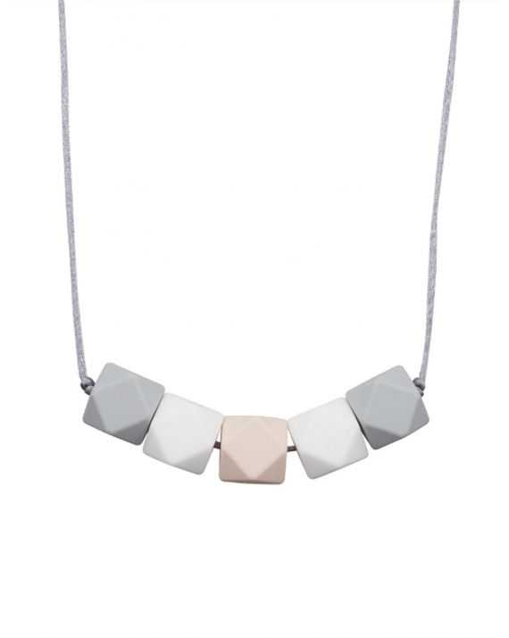 Collier dentition Mini Geometric rose perle Minty Wendy